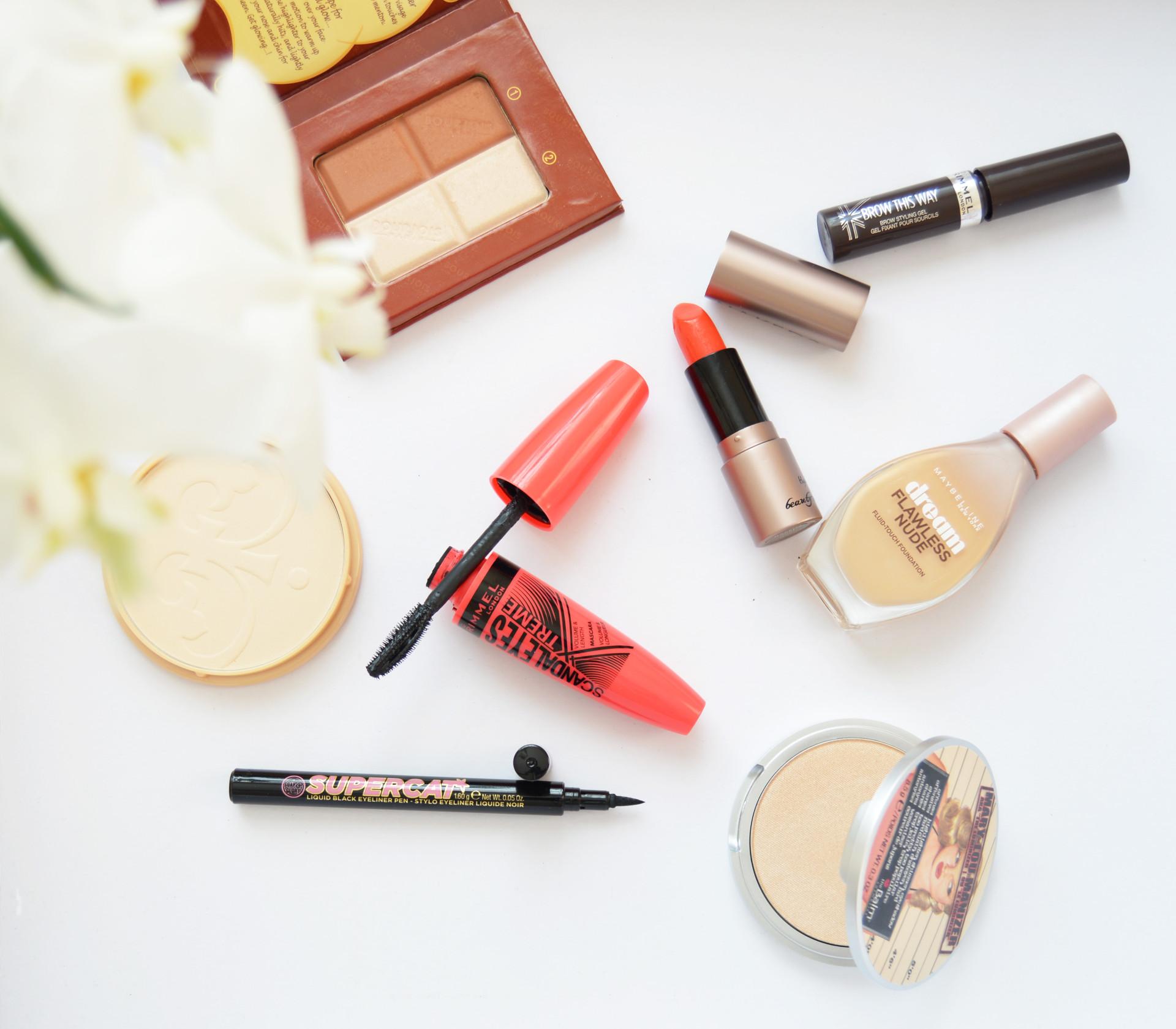 Summer Makeup Menu