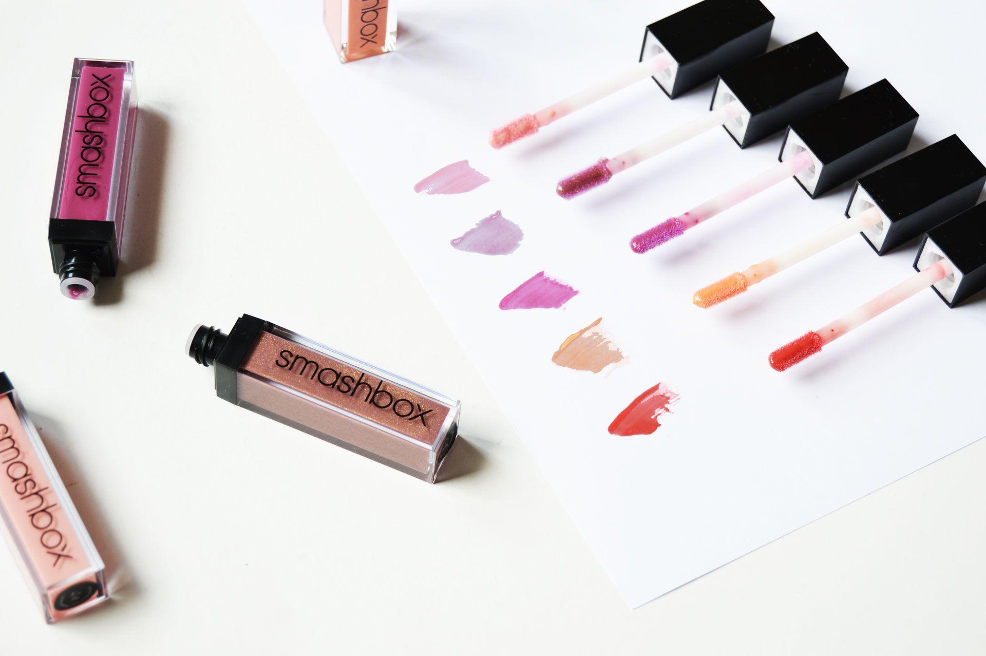 Smashbox Be Legendary Lip Gloss Swatches