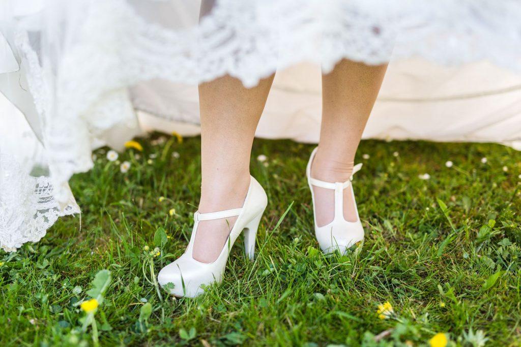 Wedding Shoes, Vintage wedding shoes - Wedding Photography